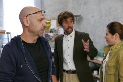 Jorge de Guillae con Joaquin Llamas